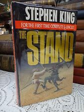 THE STAND by Stephen King ~ FIRST TRADE EDITION STATED ~ 1990 Hardcover