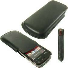 caseroxx Pouch for Nokia 5800 XpressMusic in black made of faux leather