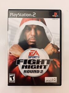 PS2 Fight Night: Round 2 (Sony PlayStation 2, 2005) + Manual