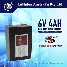 Brand New 6V 4.0AH SLA Rechargeable battery 6volt Sealed Lead 4ah Toy Electric