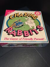 2428) RARE CHASING RABBITS The Game Of Friendly Pursuit! 1991 Musser Film Prod