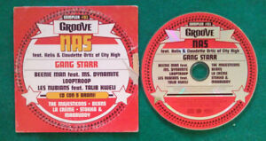 CD Compilation Groove Sampler #01 LLooptroop Nas Gangstar Rap Hip Hop no lp (C2)