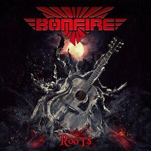 BONFIRE - Roots - Limit. Gatefold-Clear-Red-Vinyl-2LP - 884860364614