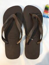 Havaianas TOP Women's Flip Flops - Size Brazilian 41/42 Brown