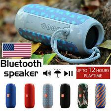 T&G Wireless Bluetooth Speaker Travel Bass Portable Outdoor Stereo Loudspeaker