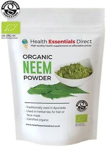 Organic Neem Powder (Healthy Hair, Digestive Bitter, Face-mask) Choose Size: