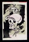 Old+Matchbox+Label+Japan+Skull