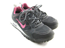 Nike ACG Women's Air Wildtrail GTX Trekking Pink/Black Gore-Tex Shoes Size 8.5