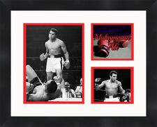 Muhammad Ali  black framed collage picture 11X14 Boxing print  Frames By Mail