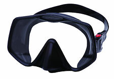 Atomic Frameless 2 UltraClear Dive Mask, FreeDiving Scuba Snorkeling LG Black