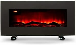 Electric Fireplace LED Wall Mounted or Freestanding 900W-1800W Remote Control