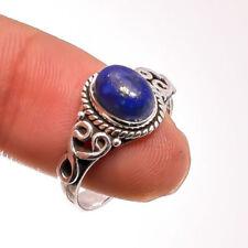 Anillos de joyería azul lapislázuli