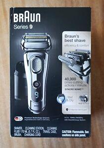 BRAUN Series 9 9295cc Wet & Dry Men's Electric Shaver