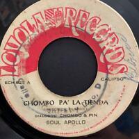 PANAMA Latin Calypso Ballad SOUL APOLLO Chombo Pa Tienda 7' 45rpm VERY RARE Hear