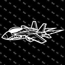 "9"" Fighter Jet Vinyl deacl MiG-29 funny car laptop JDM sticker airforce military"
