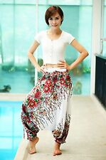 Harem Aladdin Casual Trouser Boho Baggy Woman Yoga Gypsy Indian Hippie Pants BL9