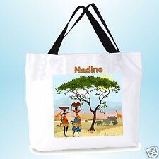 grand cabas sac shopping sac de plage  fond large personnalisé  prénom réf 07