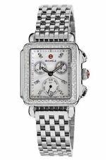 New Michele Deco Day Diamond MOP Dial Chronograph MWW06P000099 Ladies Watch