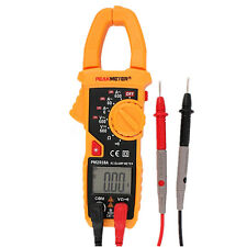 PM2018A Digital Clamp Multimeter Ammeter AC/ DC Voltage Ohmmeter Test Probes