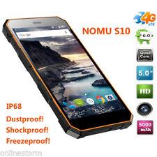 5.0'' NOMU S10 IP68 Étanche 2+16Go 4G CAT4 Téléphone 5000mAh 13MP HiFi Débloqué