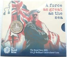 2015 First World War Royal Navy Belfast BU £2 Two Pound Coin Pack Sealed