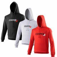 Mini Cooper S Hoodie Car Enthusiast John Cooper Works VARIOUS SIZES & COLOURS