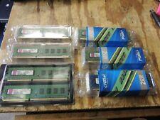 NEW Lot of 10 Kingston 1GB DDR3 PC3-10600 Desktop Memory Module KTH9600B/1G