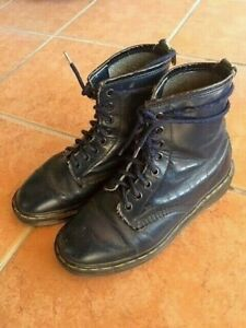 Dr Martens 1460 Made in England Blue Boots Women UK Size 5 US Size 6