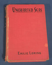 Uncharted Seas by Emilie Loring Vintage 1930's HC Book