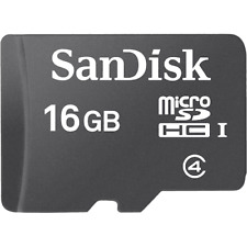 SanDisk 16gb Micro SD SDHC Class 4 Ultra Memory Card 16g Tablet Mobile