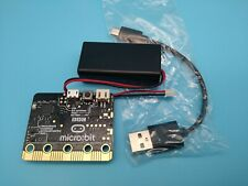 BBC Micro:bit Micro computer. Educational Coding Kit with batt case and usb lead