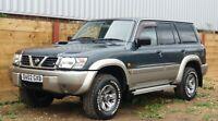 2002 [02] Nissan Patrol 3.0 Turbo Diesel Gr Se 84K Miles 99P Start No Reserve