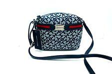 TOMMY HILFIGER Crossboby Messenger Bag*Navy Blue Multi Shoulder Purse New