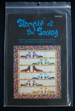 """Quilt Pattern: """"Stompin' at the Savoy"""" by 2 Much Fun"""