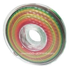 GO-3D Print Multi Color Gradient 3D Printing PLA Filament 1.75mm 500g / 1.1lbs