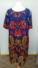 Marks and spencer Dress Size 16 bright paisley design