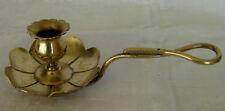 Ancien bougeoir rat de cave XIXème flambeau chandelier candlestick leuchter