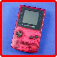 [Region Free] Nintendo GameBoy Color Clear Red Sakura Wars Limited model GBC