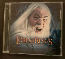 LOTR The Two Towers Original Motion Picture Soundtrack -Enhanced CD Howard Shore