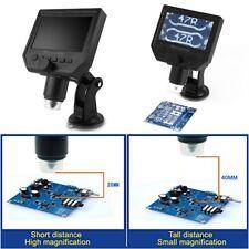 """1-600x 3.6MP LCD digitale elettronico microscopio portatile schermo OLED HD 4.3"""""""