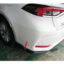 Carbon For TOYOTA Corolla Altis 12th MF Rear Side Bumper Lip Spoiler Splitter
