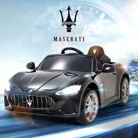 12V Kids Ride On Car Maserati Cabrio Electric Toy W/ Remote Control MP3/USB/TF