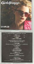 GOLDFRAPP w/ FLAMING LIPS & dfa 2006 CAREER SAMPLER w/ REMIXES PROMO DJ CD USA
