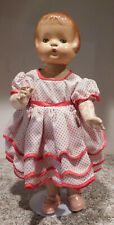 "OLD  1930's 18 1/2"" Composition Effanbee Patsy Ann Doll"
