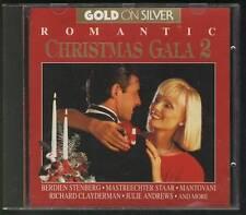 ROMANTIC CHRISTMAS GALA 2 CD Berdien Stenberg Richard Clayderman Francis Goya