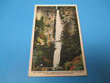 Multnomah Falls Colombia River Highway Unused Vintage Color Postcard PC23
