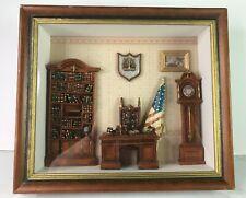 Shadow Box Art Wall Hanging Judge Lawyer Diorama Arister Gifts Inc.