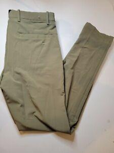 Nike Vapor Flex Men's 34X34 Slim Fit Golf Pants Olive BV0273-222 MSRP $90 NWT