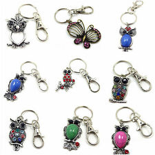 KeyRing Key Ring Lobster Clasp Charms Pendants Purse Bag Swivel Trigger