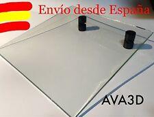Cristal 22x22cm Prusa Glass Crystal Mk2 Mk3 Heatbed Cama Caliente Resiste Steel